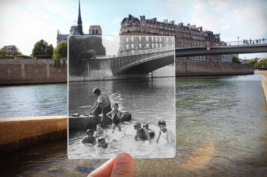 fotosolution-Realisme-Old-and-New-Photos-of-Paris-Capital-12