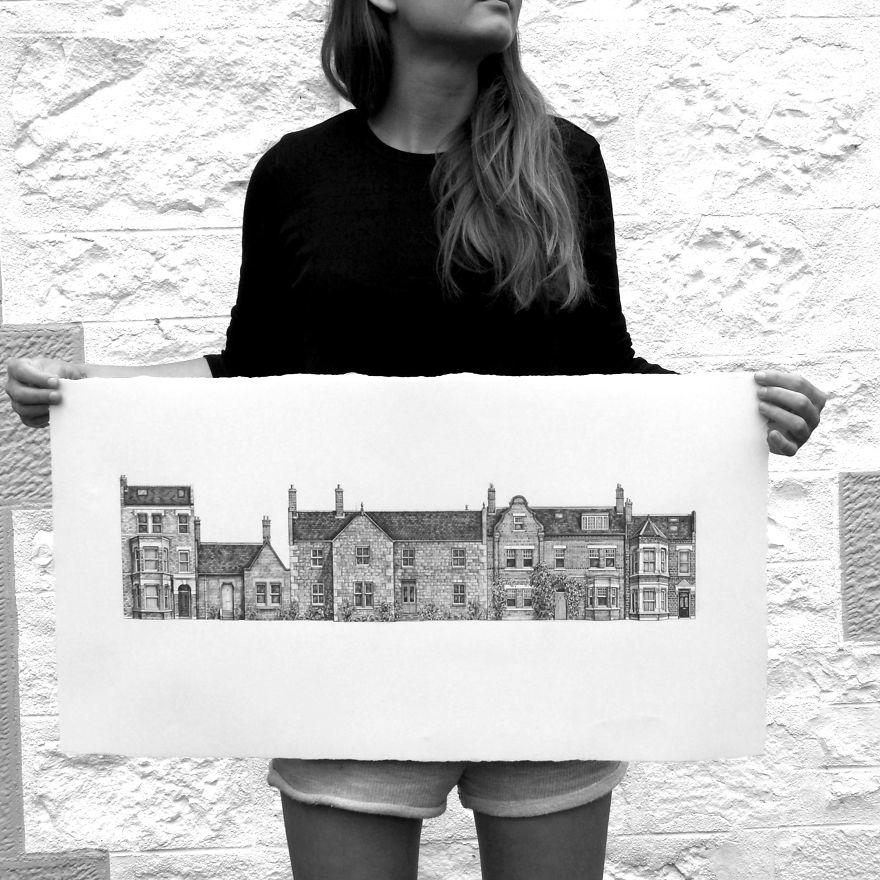 otosolution-Pencil-Drawing-Photorealistic-Architectural-Drawing-of-Famous-European-Building-12