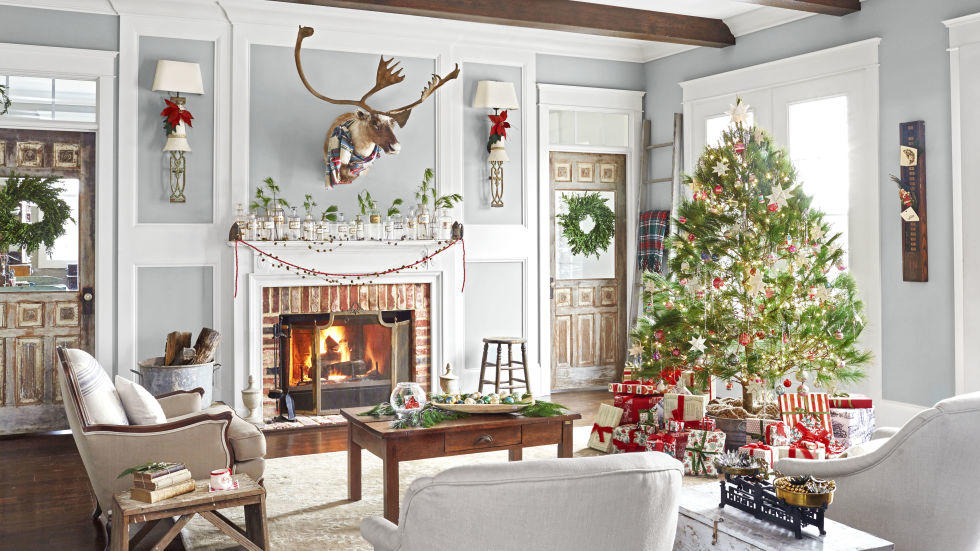 fotosolution-Beautiful-Living-Room Decorating-for-Christmas-Holiday-04