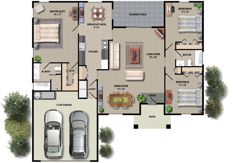 fotosolution-Do-you-know-all-things-of-Floor-Plan-02