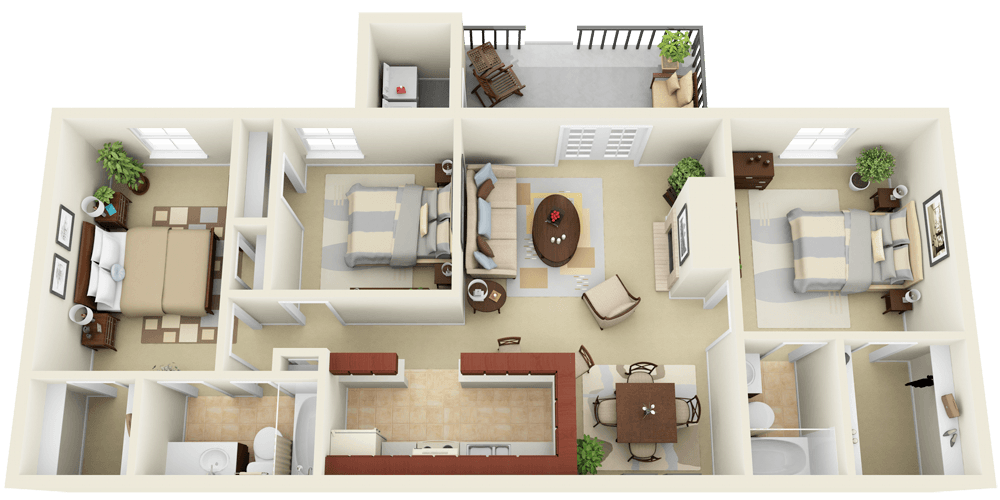 fotosolution-How-to-Attract-Home-Buyer-with-3D-Floor-Plan-01